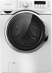 Samsung - 4.0 Cu. Ft. 15-Cycle High-Efficiency Steam Front-Loading Washer - White