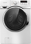 Samsung - 40 Cu Ft 15-Cycle High-Efficiency Steam Front-Loading Washer - White
