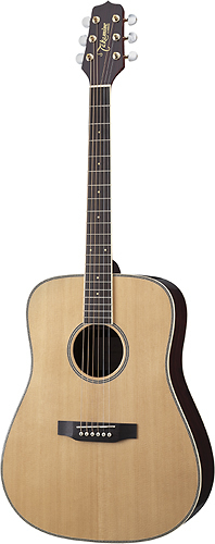 Takamine - G Series 6-String Full-Size Dreadnought Acoustic/Electric Guitar - Natural