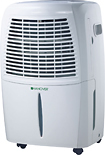 Hanover - 70-Pint Dehumidifier - White
