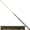 Trademark Global - Fantasy Dragon 2-Piece Wood Pool Cue Fantasy Dragon Billiards Cue with Case