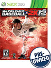 Major League Baseball 2K12 - PRE-OWNED - Xbox 360