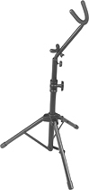 On-Stage - Tall Alto/Tenor Saxophone Stand - Black