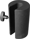 On-Stage - 6-Lb. Microphone Stand Counterweight - Black