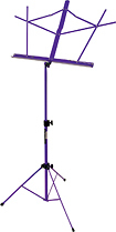 On-Stage - Compact Sheet Music Stand - Purple