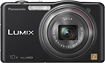Panasonic - Lumix DMC-SZ7 141-Megapixel Digital Camera - Black