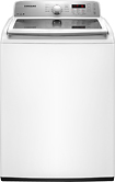 Samsung - 4.2 Cu. Ft. 9-Cycle High-Efficiency Top-Loading Washer - White