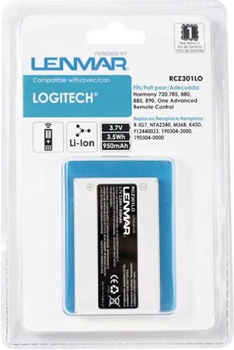 Lenmar - Lithium-Ion Battery for Select Logitech Universal Remotes - Black