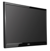 "AOC - 21.5"" Widescreen Flat-Panel LED Monitor - Piano Black"