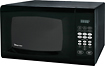 Magic Chef - 09 Cu Ft Compact Microwave - Black