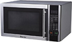 Magic Chef - 11 Cu Ft Mid-Size Microwave - Stainless-Steel