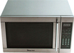 Magic Chef - 13 Cu Ft Mid-Size Microwave - Stainless-Steel