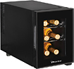 Magic Chef - 6-Bottle Wine Cellar - Black