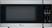 Magic Chef - 18 Cu Ft Full-Size Microwave - Stainless-Steel/Black