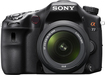 Price Sony - Alpha a77 243-Megapixel DSLR Camera with 16-50mm Lens - Black price