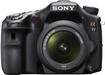 Price Sony - Alpha a77 243-Megapixel DSLR Camera with 16-50mm Lens - Black price