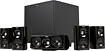 Klipsch - HD Theater 600 51-Channel Home Theater Speaker System with Powered Subwoofer