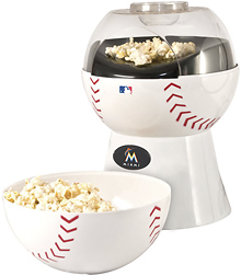 Pangea Brands - Miami Marlins Popcorn Maker - White