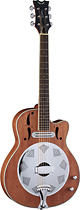 Dean - Resonator 6-String Full-Size Cutaway Electric Guitar - Natural