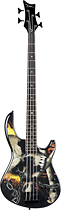 Dean - Edge 10 APJ Skull Crusher 4-String Full-Size Electric Bass Guitar