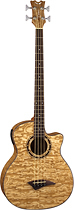 Dean - Exotica 4-String Full-Size Acoustic/Electric Bass Guitar - Natural