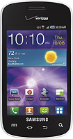 Verizon Wireless Prepaid - Samsung Illusion No-Contract Mobile Phone - Black