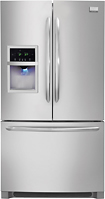 Frigidaire - Gallery 226 French Door Refrigerator with Thru-the-Door Ice and Water - Stainless-steel