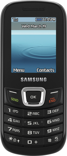 T-Mobile Prepaid - Samsung t199 No-Contract Cell Phone - Black