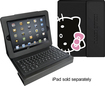 Hello Kitty - Portfolio Case and Bluetooth Keyboard for Apple iPad and iPad 2 - Pink