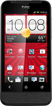 Virgin Mobile - HTC One V Mobile Phone - Black