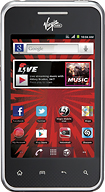 Virgin Mobile - LG Optimus Elite Mobile Phone - Black