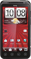 Virgin Mobile - HTC EVO V 4G No-Contract Mobile Phone - Black