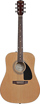 Fender - FA-100 Acoustic Guitar - Natural