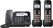 Panasonic - DECT 6.0 Plus Expandable Phone System with Digital Answering System