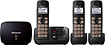 Panasonic - DECT 60 Plus Expandable Cordless Phone System with Digital Answering System