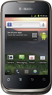 T-Mobile Prepaid - Prism No-Contract Mobile Phone - Charcoal Gray