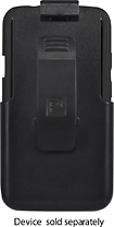 Platinum Series - Case with Holster for HTC One X Mobile Phones - Black