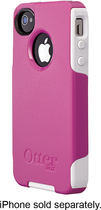 OtterBox - Commuter Series Case for Apple iPhone 4 and 4S - Pink