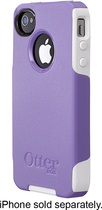 OtterBox - Commuter Series Case for Apple iPhone 4 and 4S - Purple