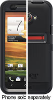 OtterBox - Defender Series Case for HTC EVO 4G LTE Mobile Phones - Black