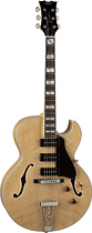 Dean - Palomino 6-String Full-Size Semi-Hollow Electric Guitar - Natural