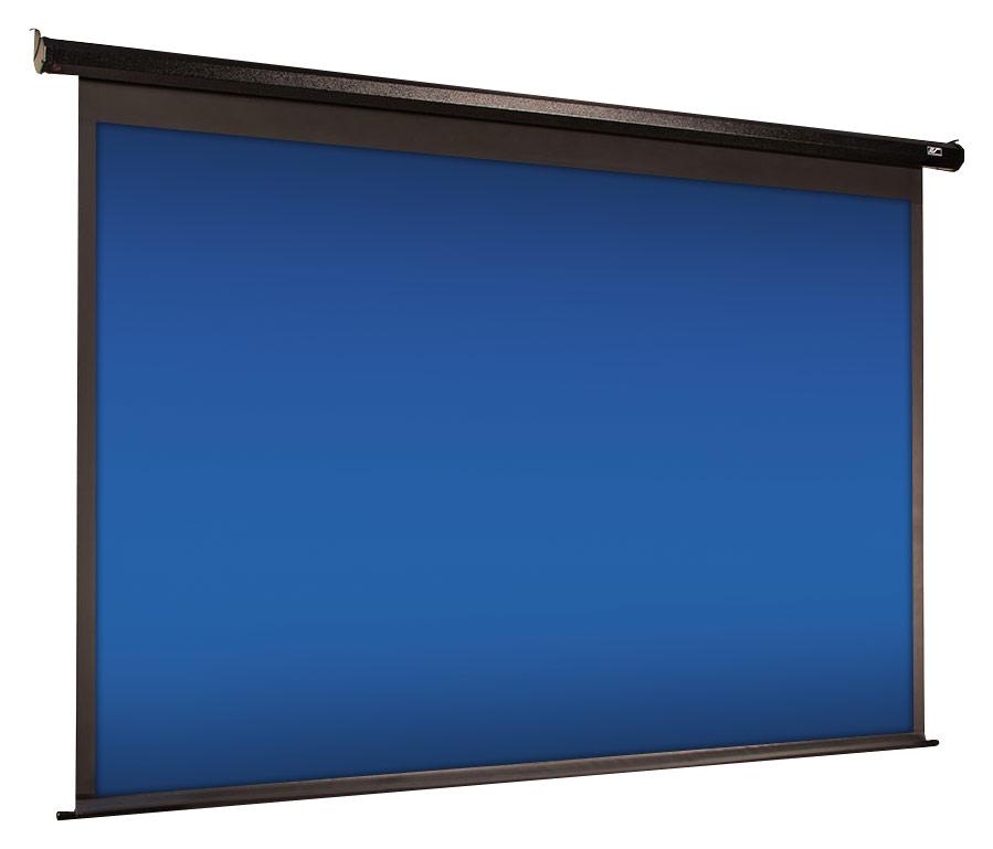 Elite Screens - Spectrum Series 110 Motorized Projector Screen - Black