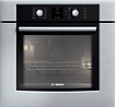 Bosch - 500 Series 30&quot; Built-In Single Electric Convection Wall Oven - Stainless-Steel