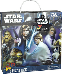 BestBuy - Star Wars - Super 3D Assorted Puzzles - $6.99