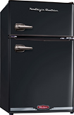 Nostalgia Electrics - Retro Series 31 Cu Ft Compact Refrigerator - Black