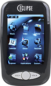 Mach Speed - Eclipse 4GB Touch Screen Video MP3 Player - Black