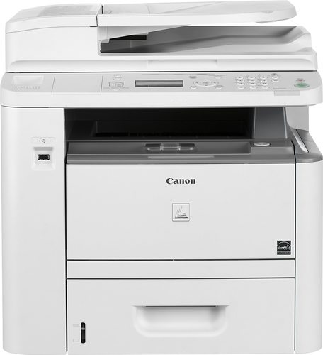 Canon - imageCLASS D1320 Black-and-White All-In-One Laser Printer - White
