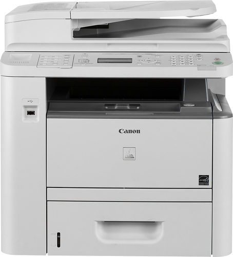 Canon - imageCLASS D1350 Black-and-White All-In-One Laser Printer - White