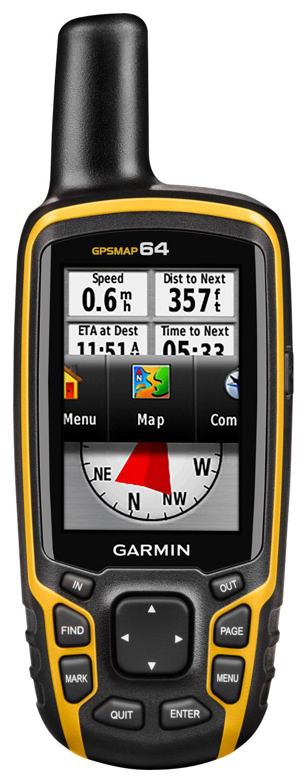 Garmin - Gpsmap 64 2.6 Handheld GPS - Yellow