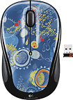 Logitech - M325 Wireless Laser Mouse - Blue Sky